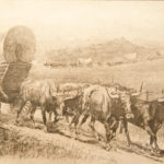 Emigrant Train John Edward Borein (American, 1872-1945) Etching and drypoint Gift of the Frederick Van Nydeck Schenck, Jr. Estate