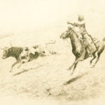 End of the Race John Edward Borein (American, 1872-1945) Etching and drypoint 7 x 11 inches Gift of Frances (Mrs. Harold) Sheets 1965.89.2
