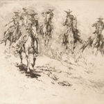 Going to the Wagon, No. 1 John Edward Borein (American, 1872-1945) Etching and drypoint Gift of the William D. McBride Estate