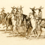 Los Charros John Edward Borein (American, 1872-1945) Etching and drypoint 8 x 14 inches Gift of William H. Bluhm 1967.178.10