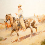 Saddle Bunch John Edward Borein (American, 1872-1945) Watercolor on paper Museum Acquisition Fund Through the generosity of Astrid and Lawrence Hammett