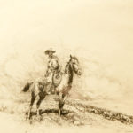 Trail Boss John Edward Borein (American, 1872-1945) Etching and drypoint 7 x 8 inches Gift of Harold A. Parma Estate 1998.42.18