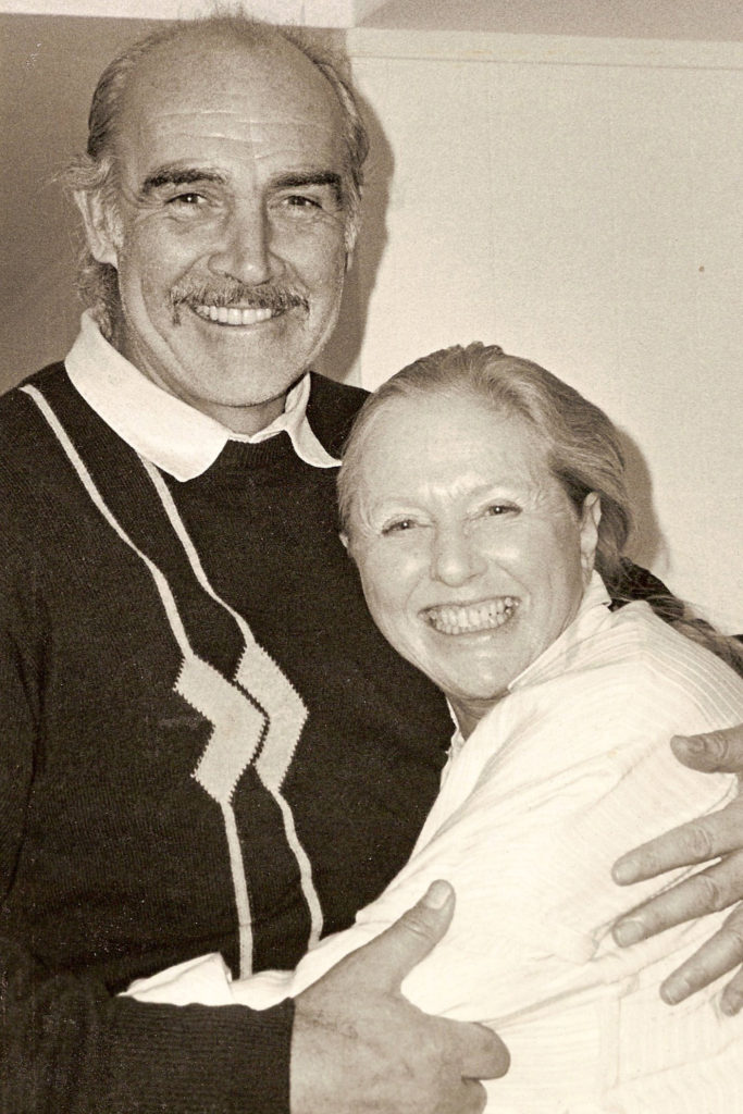 Sean Connery with Beverley Jackson